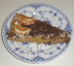 Græskartærte med rå nøddebund